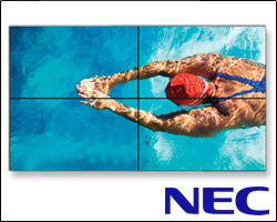 nec seamless lcd wall